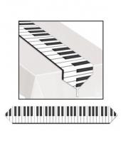 Plastic tafelloper piano
