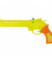 Plastic waterpistool gekleurd 28 5 x 12 x 4 cm