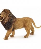 Plastic wilde katten brullende leeuw 15 cm