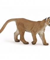 Plastic wilde katten poema 11 5 cm