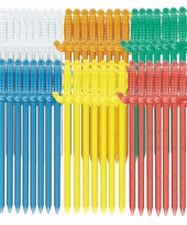 Plastic zwaard prikkers 50 stuks