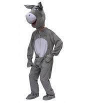 Pluche ezel kostuums volwassenen