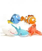 Pluche haaien knuffel destiny 17 cm
