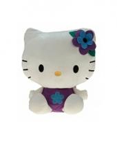 Pluche kinderknuffel hello kitty 35 cm 10058786