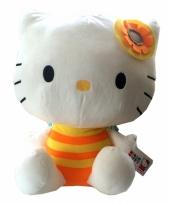 Pluche kinderknuffel hello kitty 35 cm 10058943