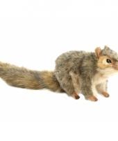 Pluche knuffel eekhoorn 22 cm