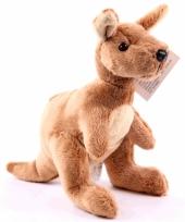 Pluche knuffel kangoeroe 19 cm