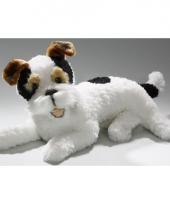 Pluche knuffeldier fox terrier 42 cm