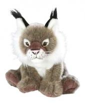 Pluche knuffeldier lynx 30