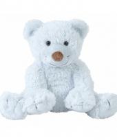 Pluche knuffels zachtblauw beertje boogy 24 cm