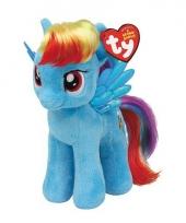 Pluche little pony dash 15 cm