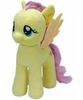 Pluche little pony knuffel fluttershy 24 cm
