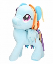 Pluche little pony knuffel rainbow dash 56 cm
