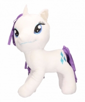 Pluche little pony knuffel rarity 56 cm