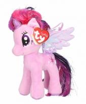 Pluche little pony sparkle 15 cm