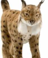 Pluche lynx knuffels 35 cm