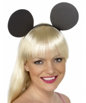 Pluche mickey mouse diadeem