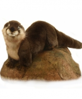 Pluche otter knuffels 24 cm