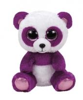 Pluche panda knuffels boom boom ty beanie 24 cm