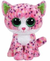 Pluche poes kat knuffels sophie ty beanie 24 cm