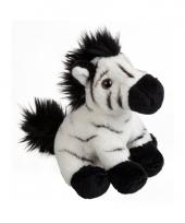 Pluche zebra knuffeltje 15 cm