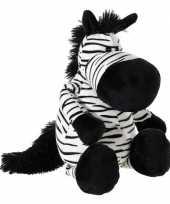 Pluche zebra knuffeltje 33 cm