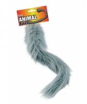 Pluizige grijze staart 50 cm