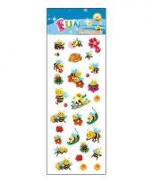 Poezie album stickers bijen
