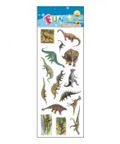 Poezie album stickers dinosaurus