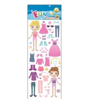 Poezie album stickers fdress up dolls