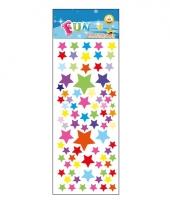 Poezie album stickers gekleurde sterren