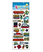 Poezie album stickers graffiti theme