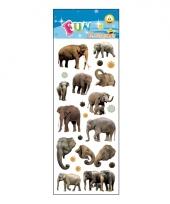 Poezie album stickers olifanten