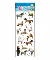 Poezie album stickers paarden