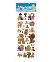 Poezie album stickers teddyberen