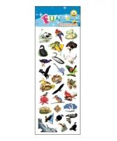 Poezie album stickers vogels