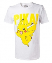 Pokemon t-shirt met pikachu