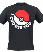 Pokemon t-shirt met pokeball