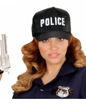 Police pet zwart voor volwassenen