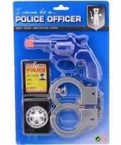 Politie accessoires speelgoed set 10133617