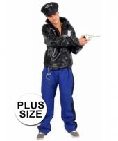 Politie agent grote maat verkleedkleding