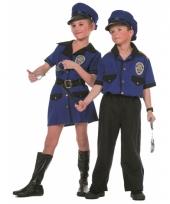 Politie carnavalskleding meisje