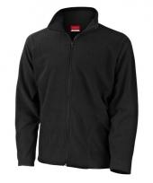 Polyester fleece vest zwart voor heren
