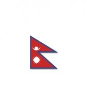 Polyester vlag nepal
