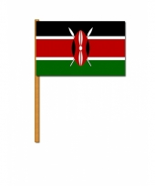 Polyester zwaaivlag van kenia