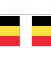 Polyster vlaggenlijn belgie 3 m