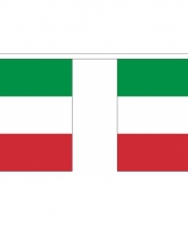 Polyster vlaggenlijn italie 3 m