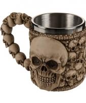 Polystone mok met skulls 10075209
