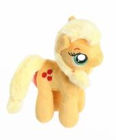 Pony knuffeldier oranje applejack 17 cm