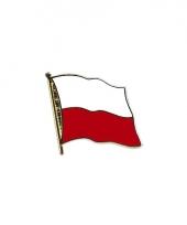 Poolse vlag pin